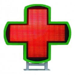 Farbiges elektronisches Apothekenkreuz Led Med Cross 3D RGB